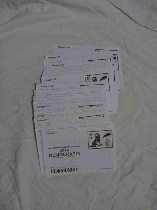 Reproducciones de sellos de la democracia