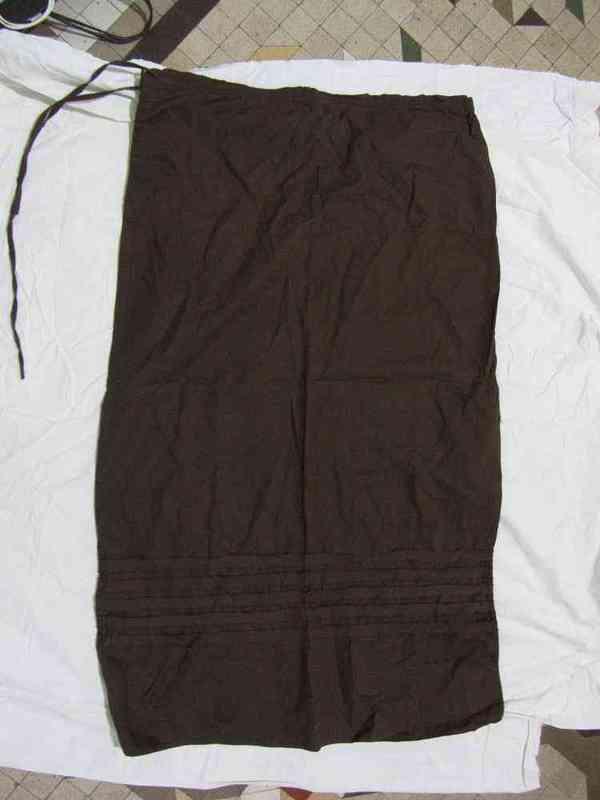 Falda larga de esfera talla 42