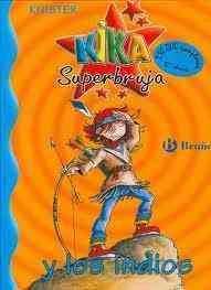 Libro kika superbruja y los indios