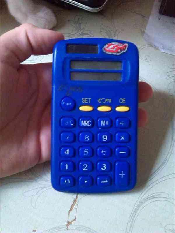 Calculadora niño