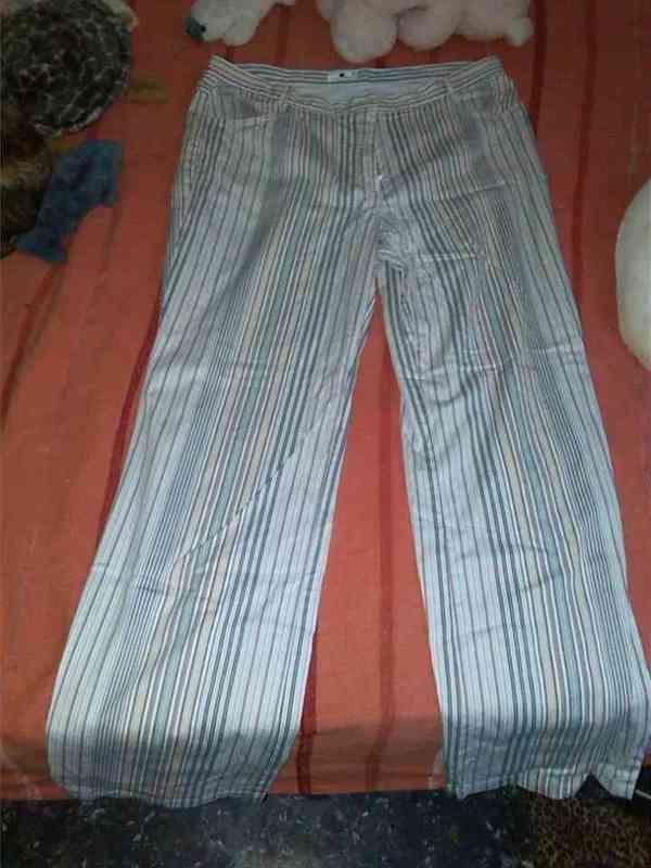 Pantalon mujer talla 46 rayas