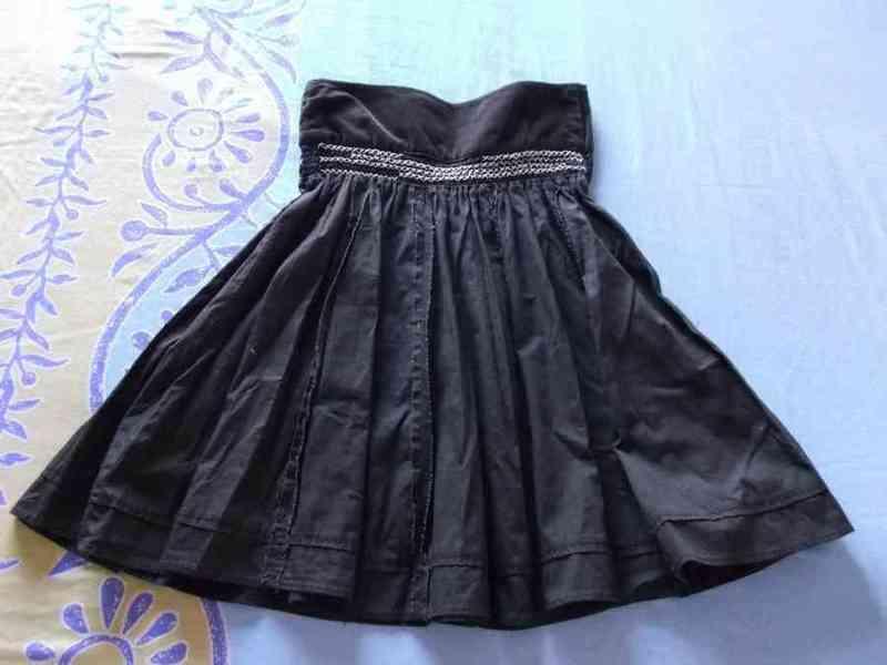 Falda marrón oscuro t-36