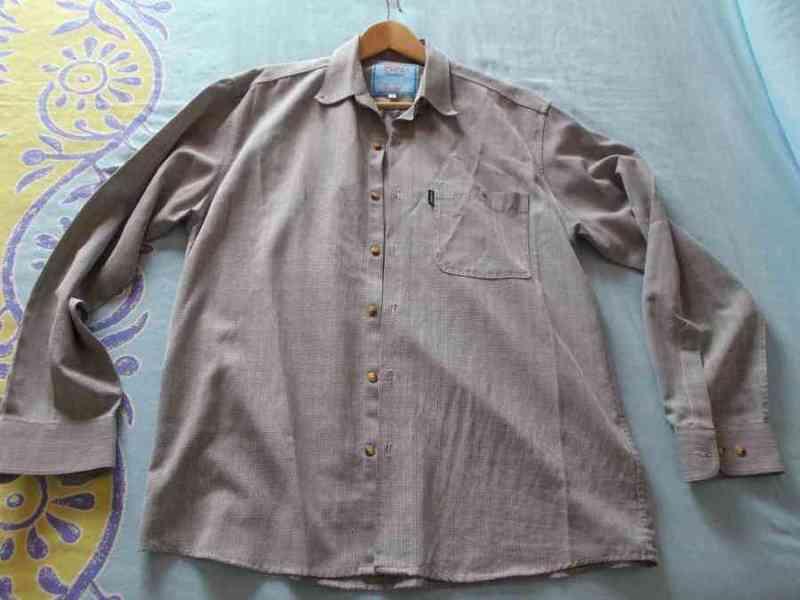 Camisa hombre manga larga t-l (chiquipum)
