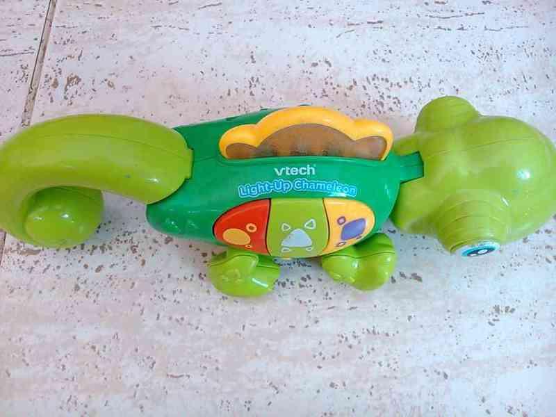 Camaleón juguete