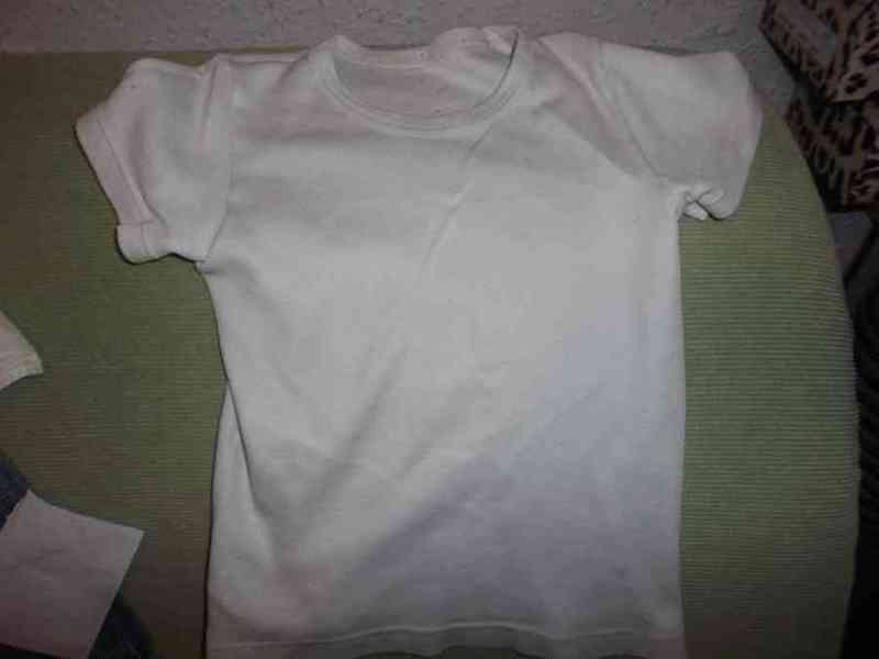 Camiseta interior 3 años