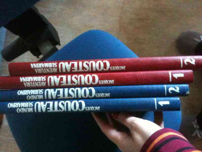4 libros de cousteau