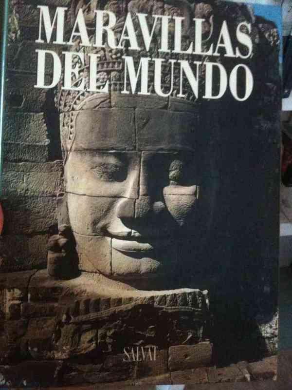 """Libro sobre """"maravillas del mundo"""""""