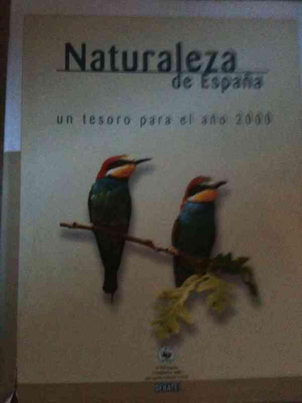 """Libro """"naturaleza de españa"""""""
