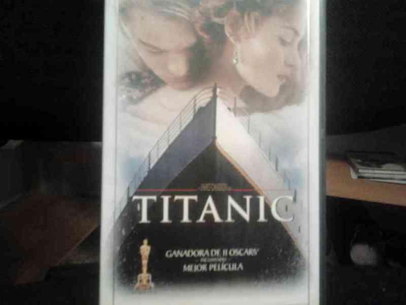 Regalo vhs titanic