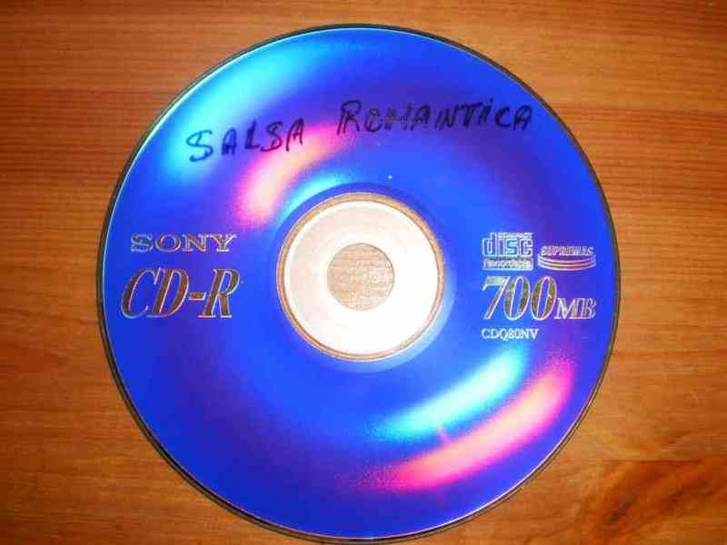 Cd salsa romantica