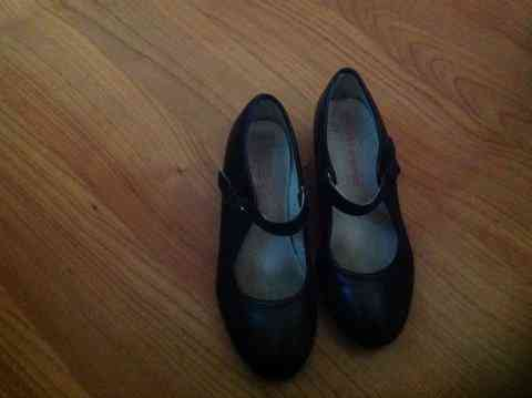 Zapatos tacón niña 2