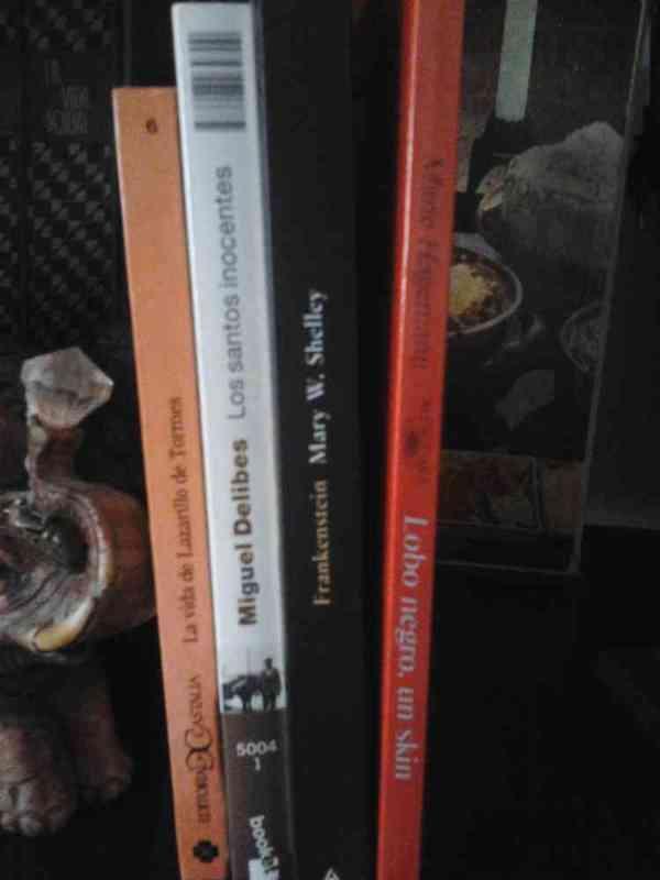 Regalo los siguientes libros