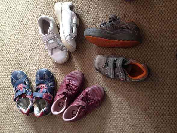 Lote de zapatos 1