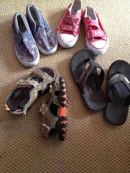 Lote de zapatos 2
