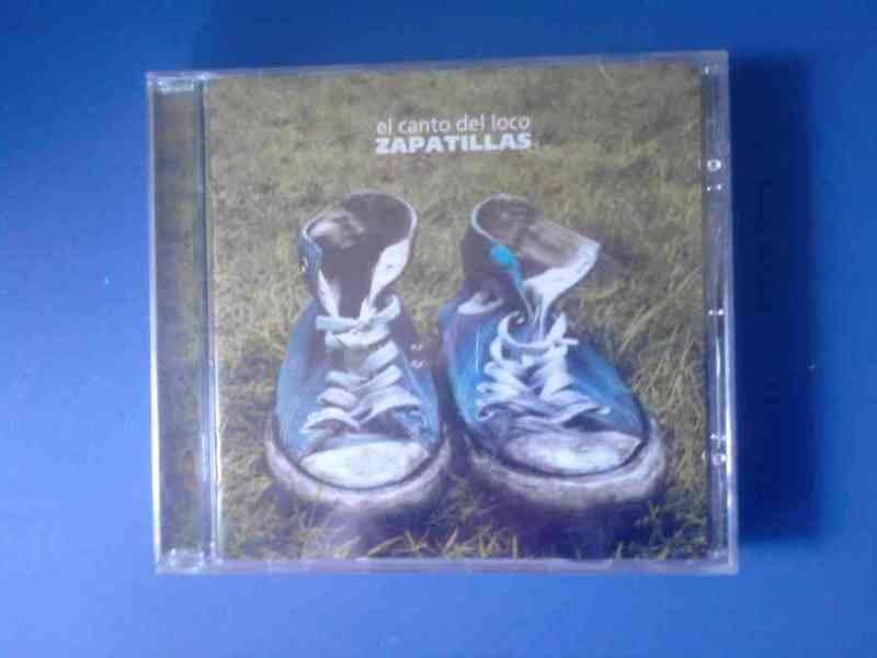 Caja cd-dvd el canto del loco-solo caja
