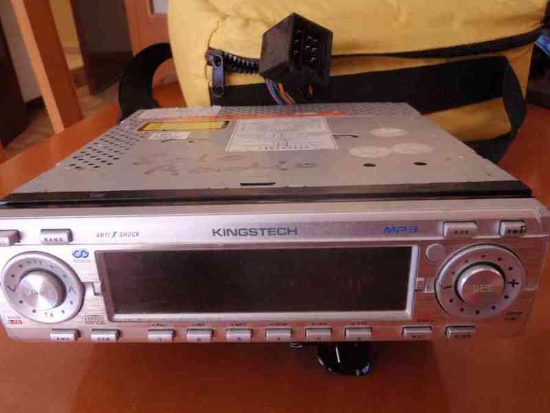 Radiocaset  para coche