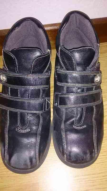N 206 botas de piel n38(antespepe1945)