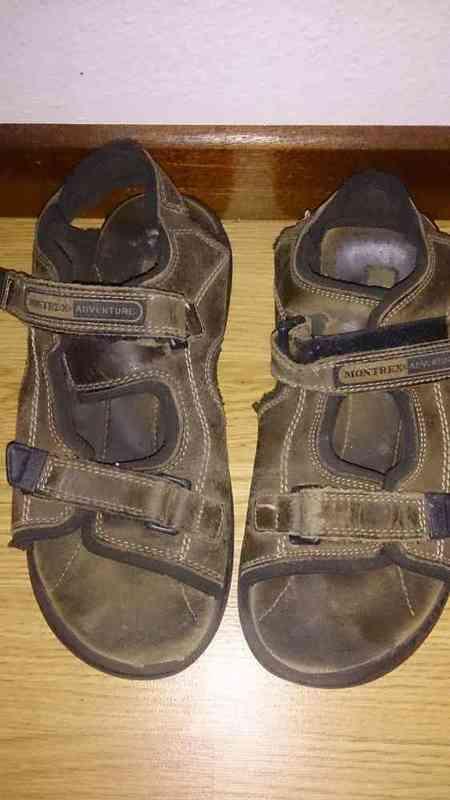 N 207 sandalias de piel n38(antespepe1945)