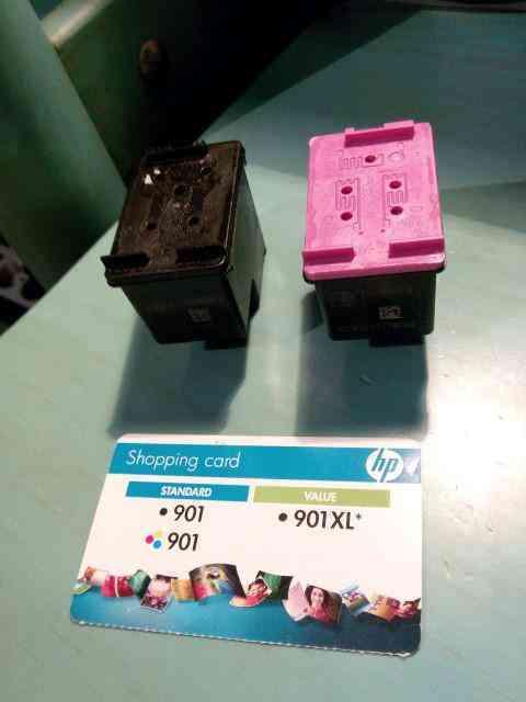 Cartuchos de tinta hp 901