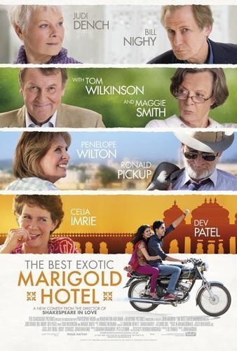 Entradas cine preestreno hotel marigold