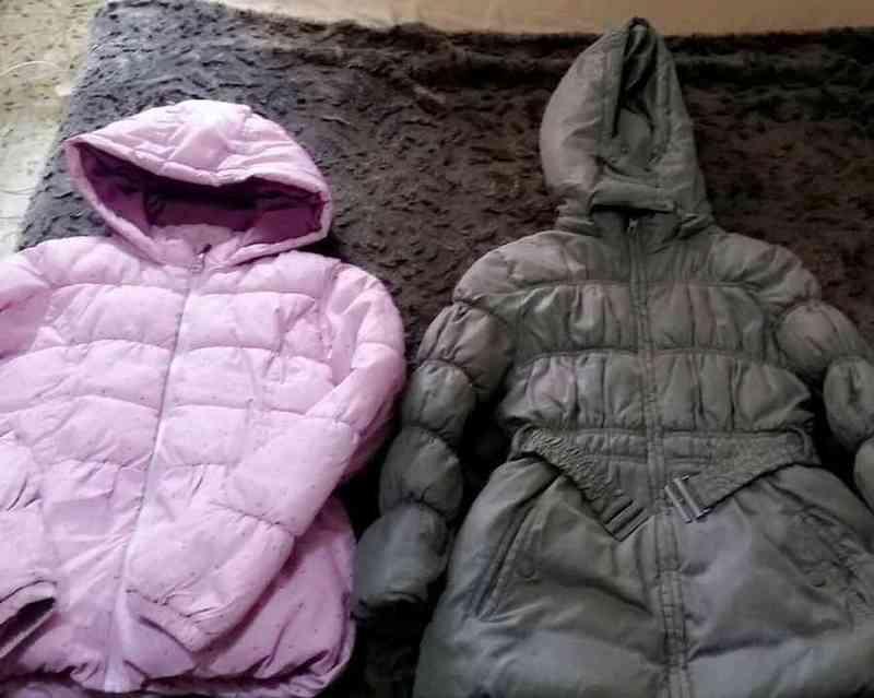 2 chaqueta niña para 8/9-10 años