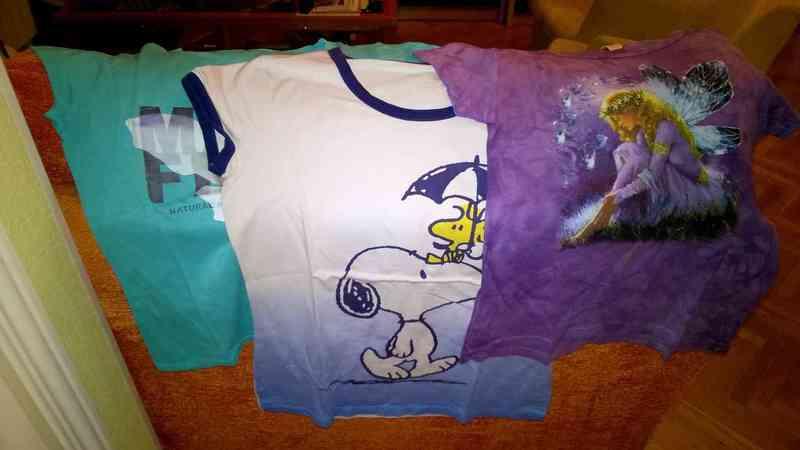 Camisetas chica manga corta