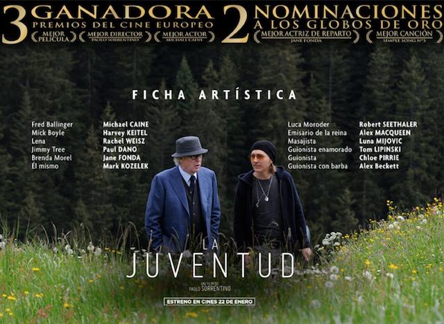 """Entradas cine preestreno """"La Juventud"""""""