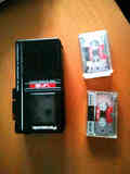 Grabadora de voz o audio con 3 cintas