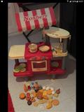 una cocina de juguete