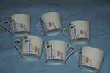 Tazas de cafe blancas