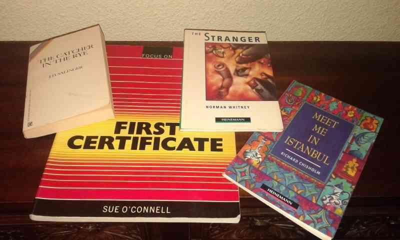 Regalo lote de libros en inglés