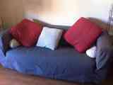 Doy sofá de Ikea klippan 2 plazas a recoger en zona Tetuán a partir del 5 de mayo
