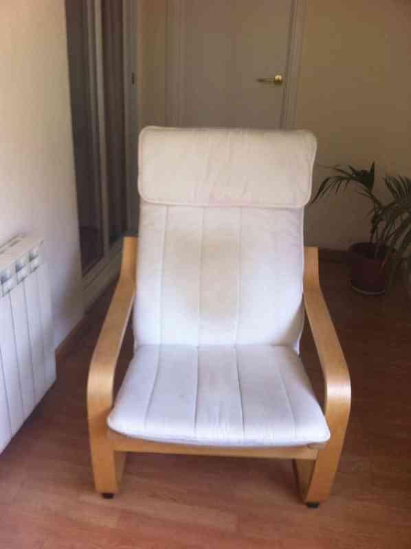 Regalo regalo sill n po ng de ikea a recoger en zona for Recoger muebles