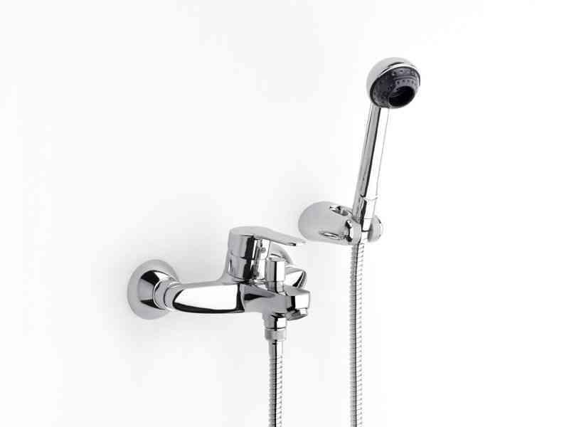 Grifo monomando cromado ducha/bañera