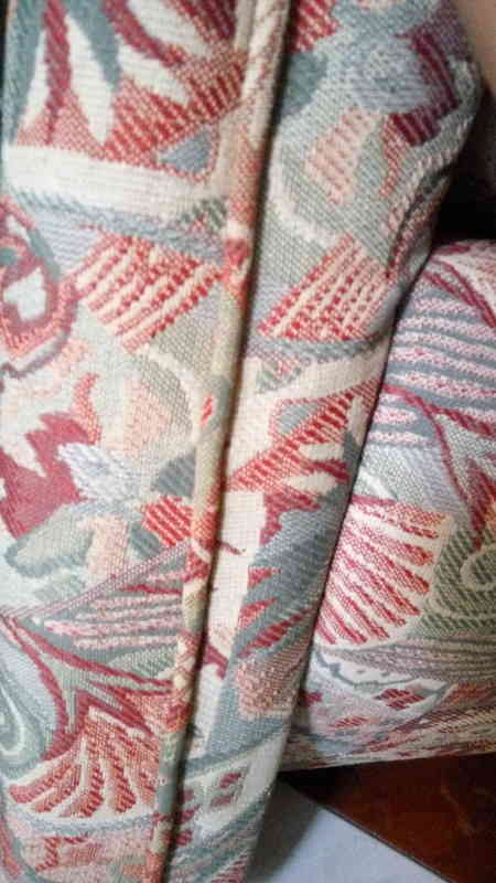 Detalle tapicería