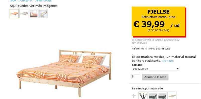 Gift Cama Y Colchón Ikea Madrid Comunidad De Madrid