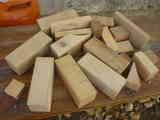 Regalo trozos de madera geometricos