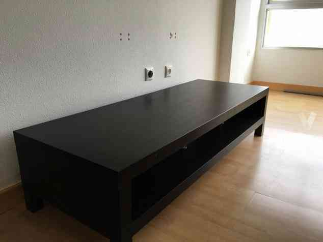 presente mueble tv ikea lack negro madrid madrid. Black Bedroom Furniture Sets. Home Design Ideas