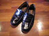 Par de zapatos mocasines negros (n. 43) (a Noviembreabril)