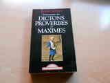 Libro en francés de proverbios y máximas