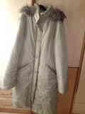 Abrigo largo para chica talla M