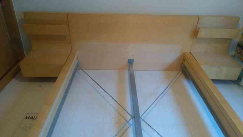 Regalo cama baja de ikea malm 200cm x 140cm galapagar for Cajones bajo cama ikea
