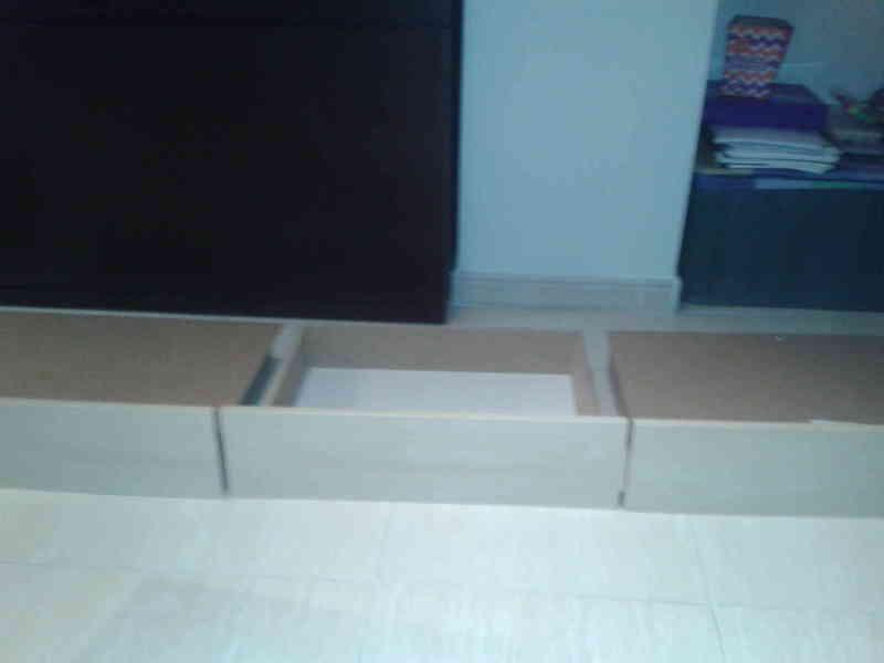 cajones bajo cama IKEA MALM