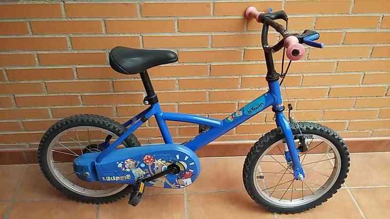 d2a2f24a6 gift - Bicicleta 16  39   39  niño btwin - Madrid