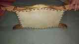 Caja de instrumento de cuerda africano
