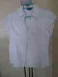 Camisa de algodon blanca