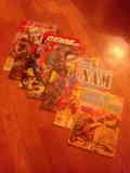 Lote comics militares 01