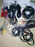 Cables de vídeo y audio...