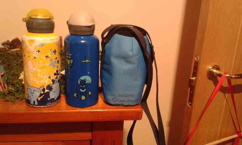 Botellas isotermicas y bolsa, Oscarito