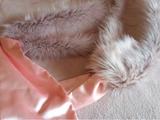 Estola rosa para vestido de fiesta (fotos en el link)